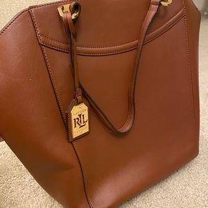 AUTHENTIC REAL LEATHER BROWN BAG